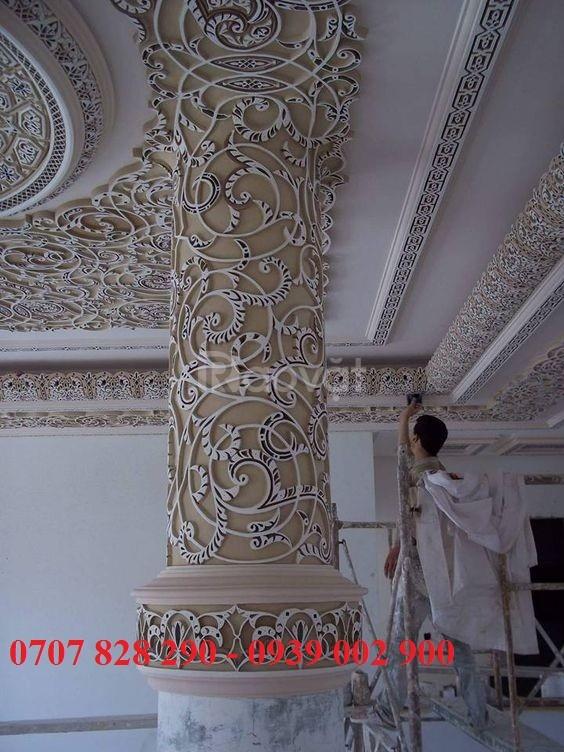 Tượng nhựa composite trang trí tường và ngoài nhà