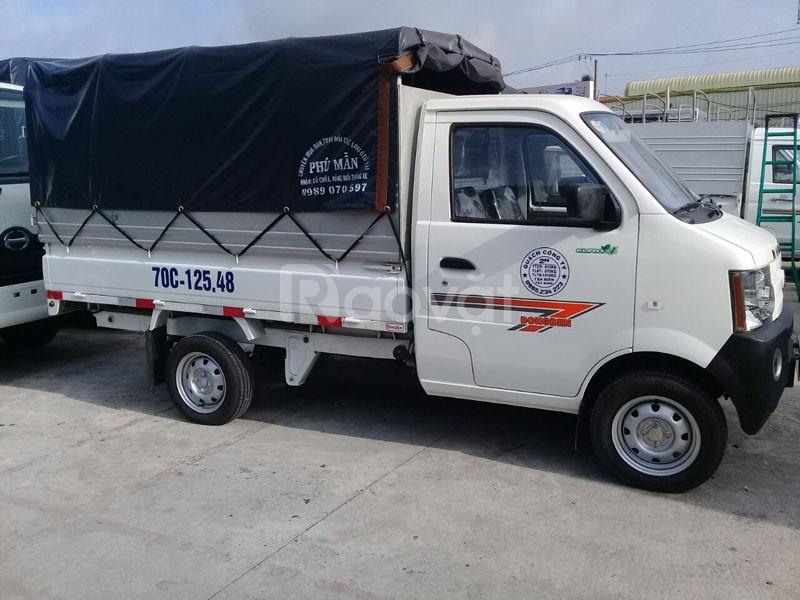 Công ty bán xe tải Dongben 800kg/700kg thùng lửng/bạt/kín TPHCM