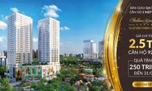 Chung cư mặt đường Ngụy Như Kon Tum  - Sắp nhận nhà - 2,5 tỷ căn 3 PN