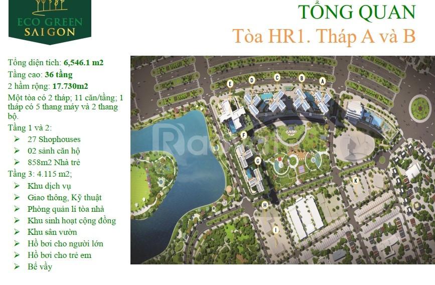 Ngày 15/6 cđt Xuân Mai Saigon công bố block M2 dự án Eco Green saigon