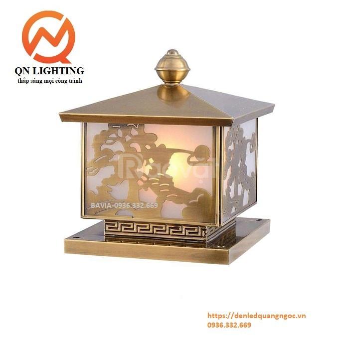 Đèn trụ cổng đồng Bavia ML-C0342-C