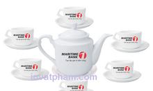 Xưởng in logo bộ tách trà giá rẻ tại Đà Nẵng