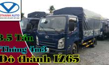 Xe tải iz65 3.5 tấn, thùng bạt 4m3 bản Gold