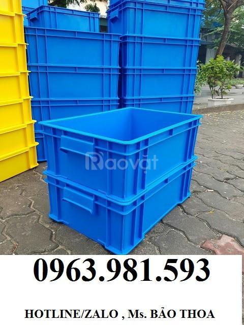 Bán thùng nhựa đặc đựng đồ, thùng nhựa công nghiệp đựng đồ cơ khí