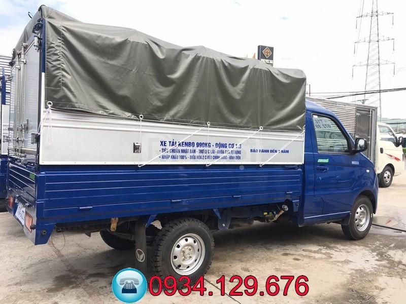 Xe tải Kenbo 990kg thùng bạt giá rẻ