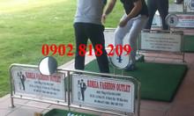 Vách ngăn sân tập golf chia làn tập golf