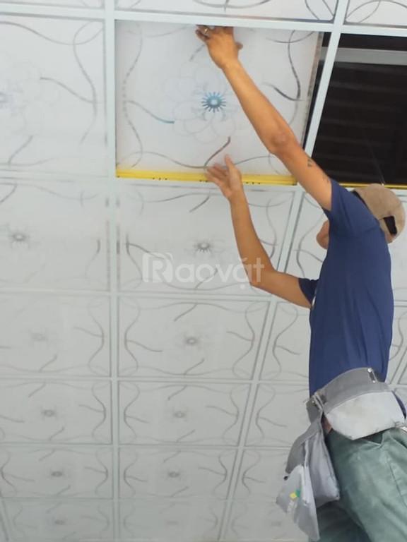 Thi công Trần thạch cao giá rẻ tại Bình Dương (ảnh 1)