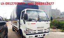 Isuzu 1t9 thùng 6m2 xe tải isuzu 1t9 vô thành phố xe isuzu 1T9