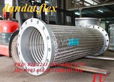 Cáp đồng bện bô zin chống rung ống bù trừ giãn nở nhiệt ống mềm chống