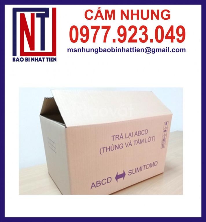 Chuyên bán thùng giấy carton mới (ảnh 5)
