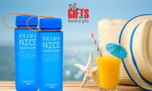 Bình đựng nước quà tặng in logo - chất lượng tốt - giá cạnh tranh
