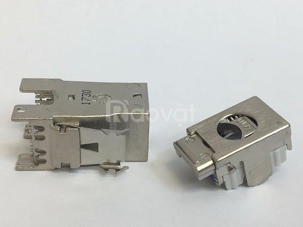 Ổ cắm mạng Cat6A - Modular jack Cat6A AMP/Commscope (2153449-4)