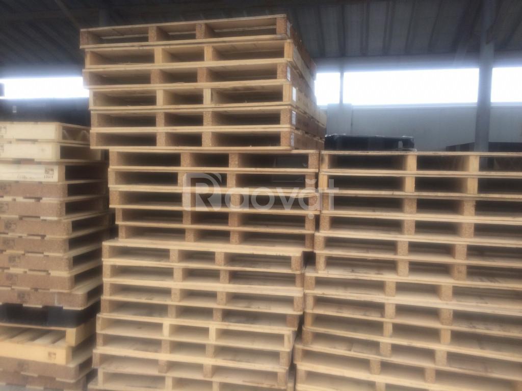 Mua bán Pallet gỗ cũ, Pallet gỗ đã qua sử dụng tại Bắc Ninh