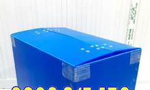 Thùng nhựa danpla có nắp, thùng nhựa pp danpla, thùng nhựa danpla xếp