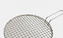 Vỉ nướng inox 304  dạng lưới kiểu Hàn Quốc 1.8mm đường kính 29.5cm