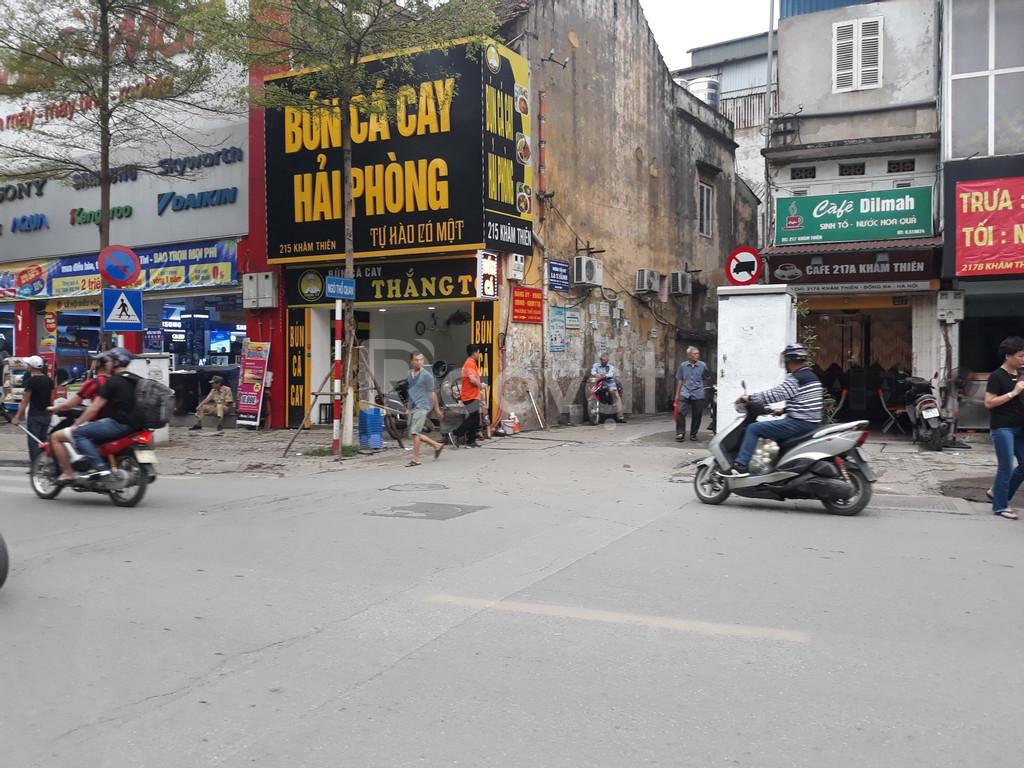 Bán nhà 4 tầng 30m2 ngõ Thổ Quan, Khâm Thiên
