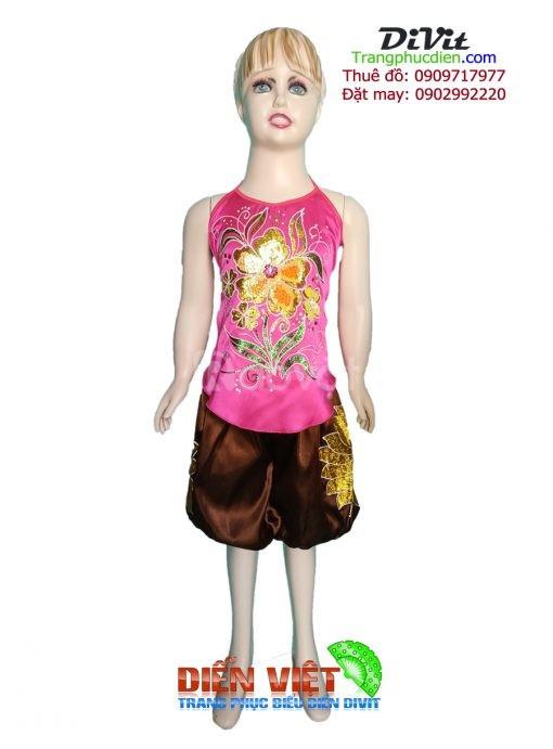 Cho thuê yếm váy trẻ em mẫu đẹp