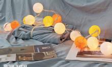 Đèn bóng cotton - Đèn trang trí shop