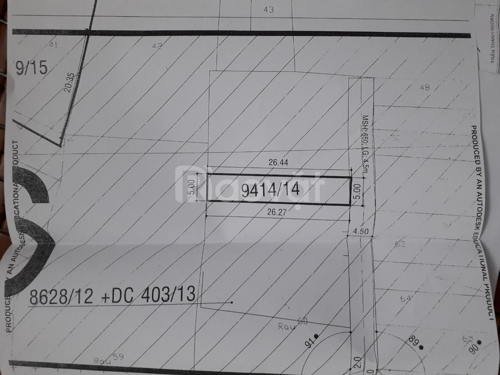 Dãy nhà trọ cấp 4 - thu nhập 12 tr/th DT 5x27, hẻm 4.5m Thạnh Xuân 13