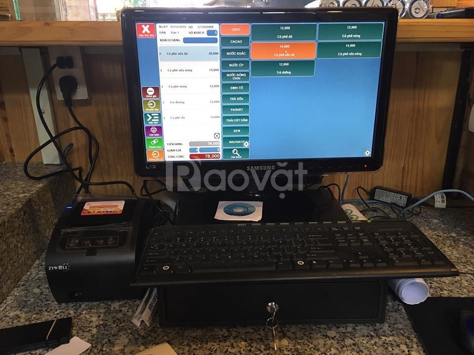 Bán máy tính tiền giá rẻ cho quán karaoke, bar tại Cà Mau