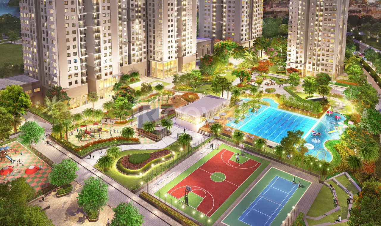 Căn hộ Sài Gòn South Residences 75 m2, 2pn, 2.35 tỷ bao phí thuế