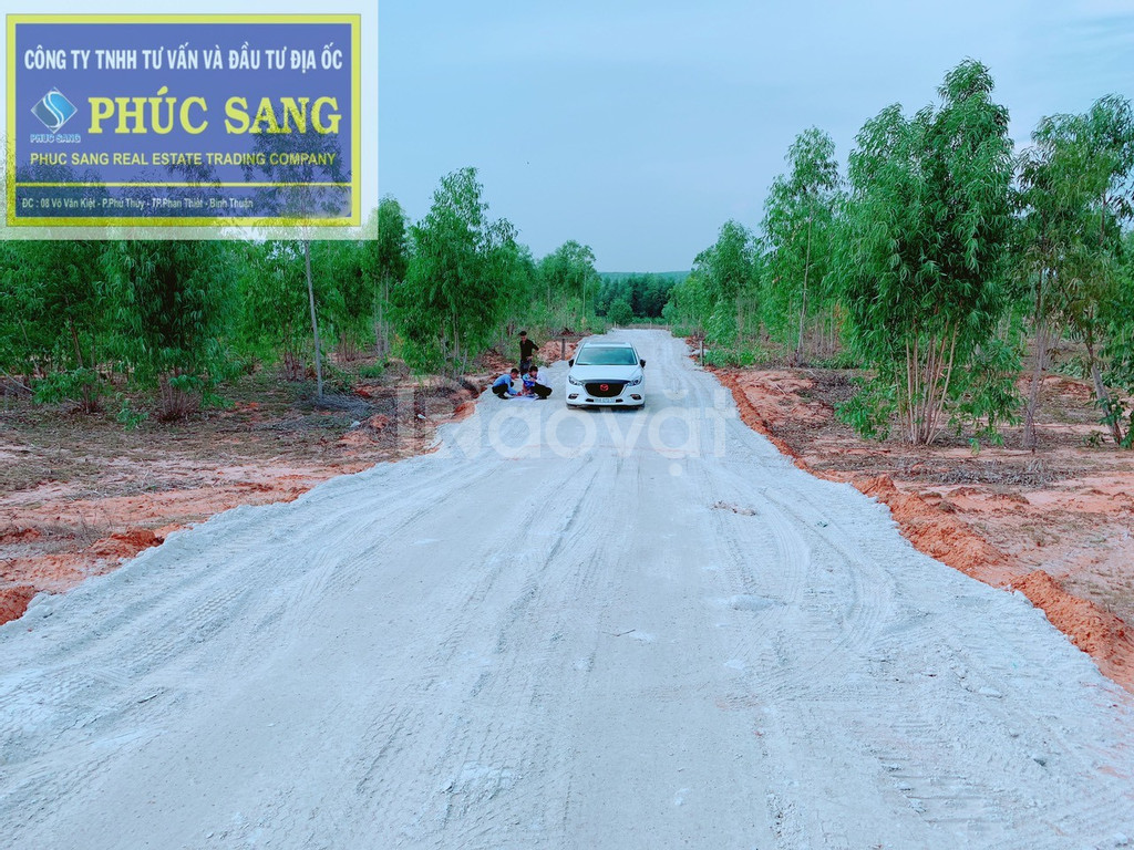 Dự án đất sào gần sân bay Phan Thiết, giá chỉ từ 570tr/1000m2