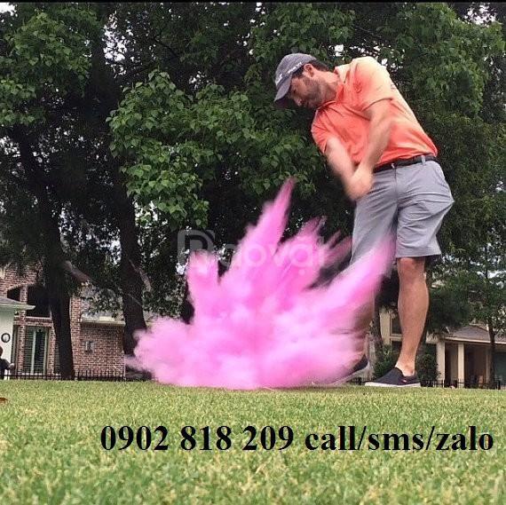 Bóng golf nổ cho khai trương