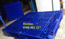 Pallet nhựa mới 100% sản xuất bằng nhựa HDPE