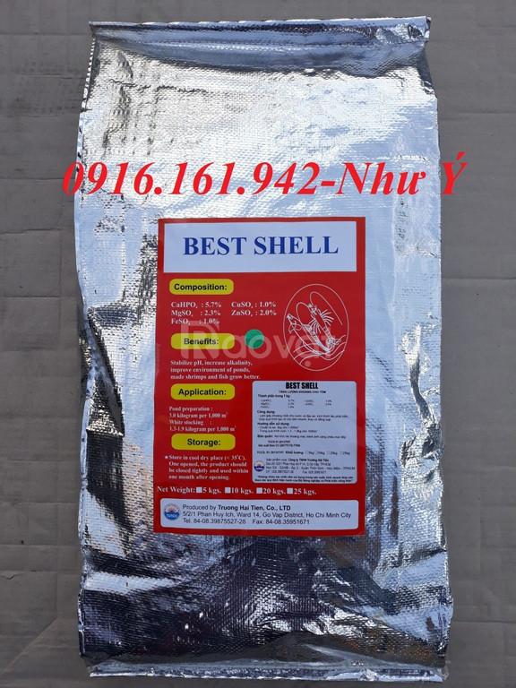 Best Shell: khoáng tạt dạng hạt, bổ sung khoáng kích lột vỏ tôm