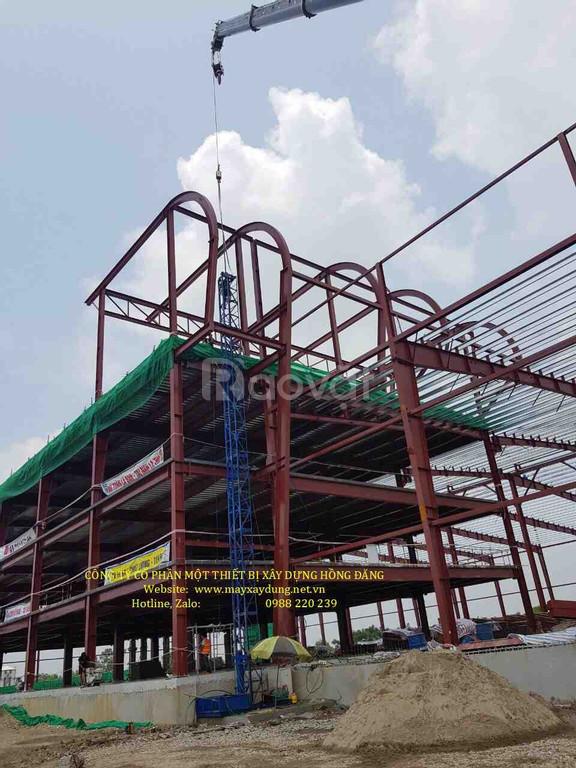 Thang nâng hàng nhà xưởng, thang nâng hàng xây dựng 2 tấn, 3 tấn