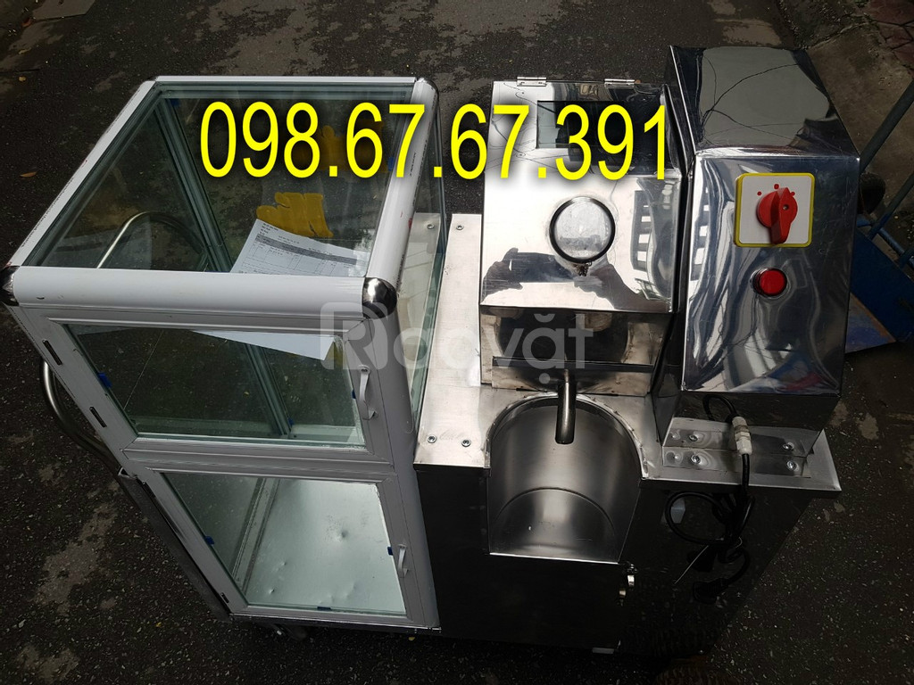 Máy ép nước mía, xe nước mía, motor 1500W