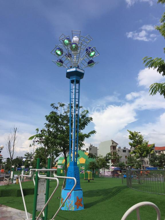 Trụ đèn hoa thủy tiên trang trí chiếu sáng công viên (ảnh 7)