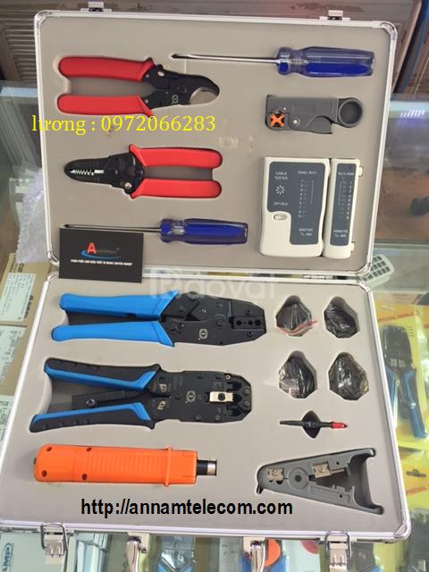 Bộ dụng cụ  K-4015  làm mạng với đầy đủ các phụ kiện