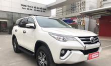 Toyota Cầu Diễn chào bán Fortuner V 2017 màu trắng
