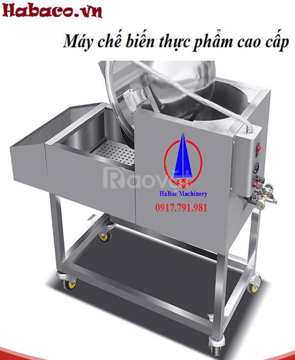 Lò quay vịt kính trong dùng than hoặc dùng điện