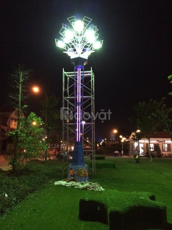 Trụ đèn hoa thủy tiên trang trí chiếu sáng công viên (ảnh 4)