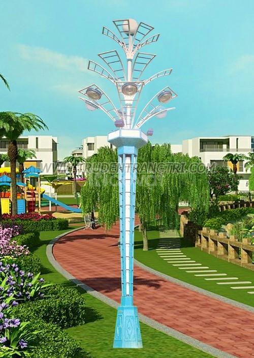Trụ đèn hoa thủy tiên trang trí chiếu sáng công viên (ảnh 1)