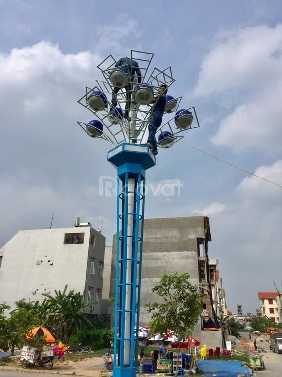 Trụ đèn hoa thủy tiên trang trí chiếu sáng công viên (ảnh 5)