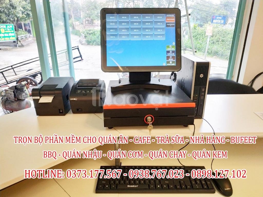 Bán máy tính tiền cảm ứng cho nhà hàng