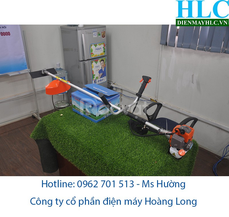 Giới thiệu máy cắt cỏ Tomikama chất lượng giá rẻ