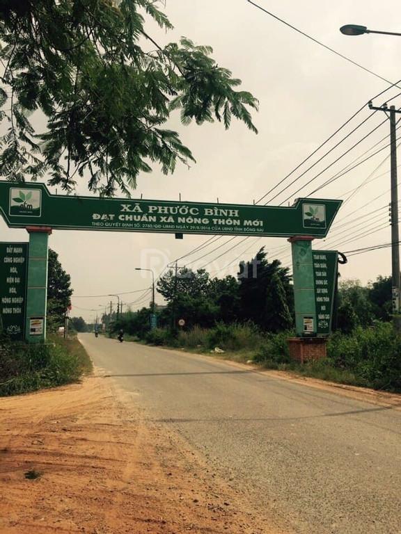 Bán đất nền khu tái định cư Phước Bình giá tốt.