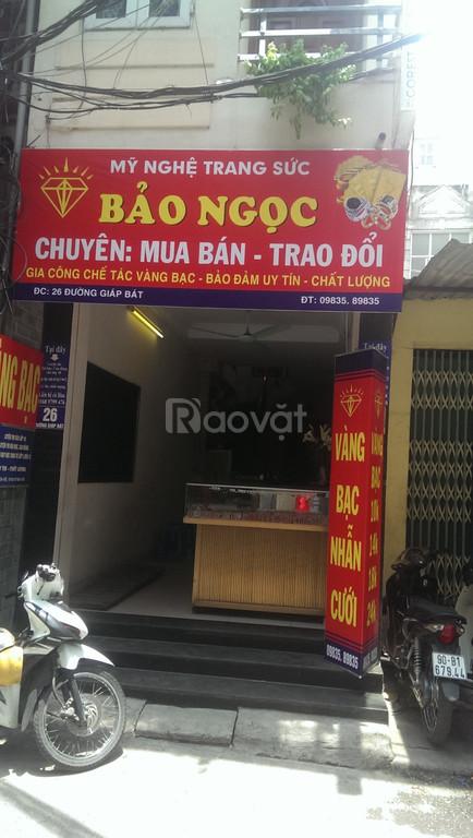 Cho thuê cửa hàng Giáp Bát, Hoàng Mai, Hà Nội