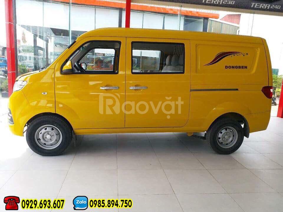 Dongben x30v5 | Xe bán tải dongben x30v5, 490kg - 5 chỗ ra vào Sài Gòn