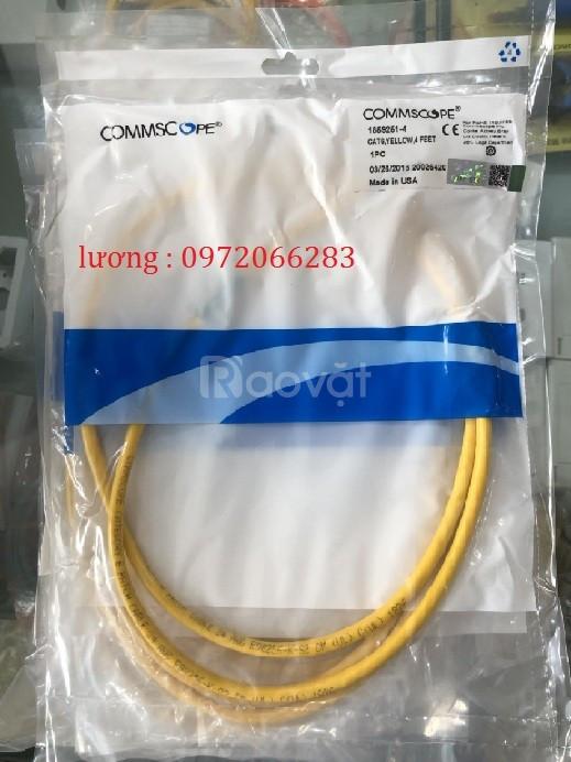 Patch Cord cm cat6 1.2m 4ft mã 1859251-4 Yel màu vàng