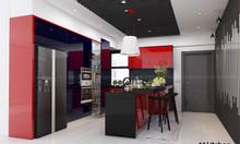Tủ bếp hiện đại acrylic - a15