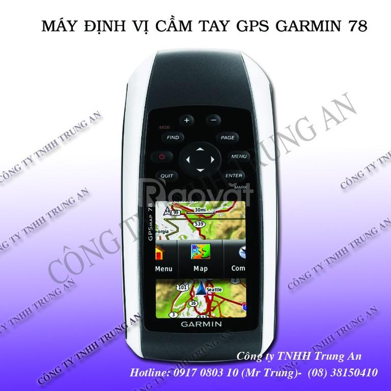 Máy đo đất định vị GPS Garmin Map 78