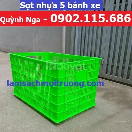 Thùng nhựa kéo hàng nặng sọt nhựa kéo hàng nặng sọt nhựa đựng hàng may