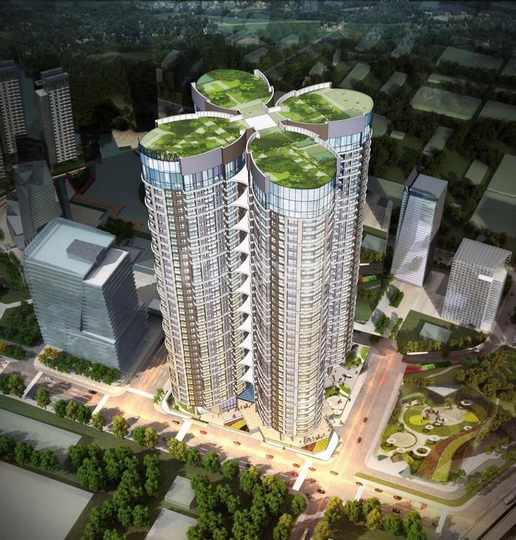Sky View Plaza – 2,3ty/2PN căn hộ cạnh trục đường Giải Phóng