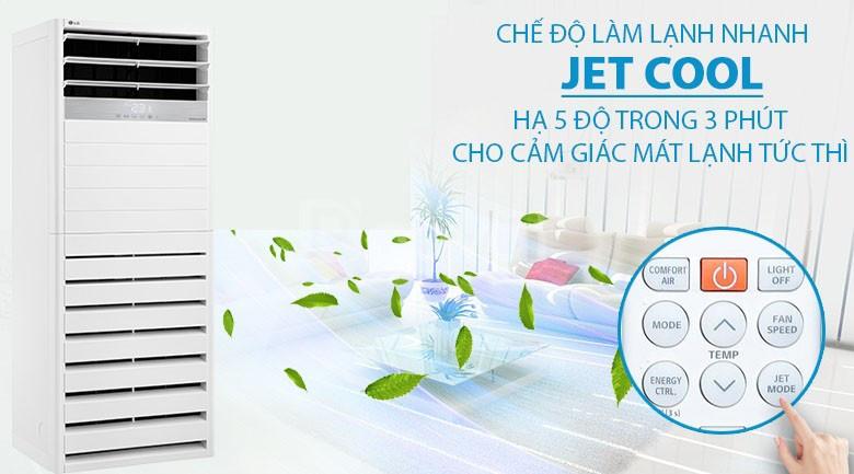 Dịch vụ cung cấp & khảo sát lắp đặt máy lạnh tủ đứng LG Inverter