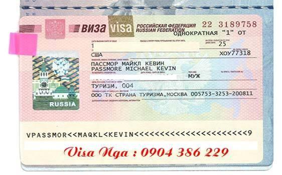 Làm visa đi Nga không cần thư mời